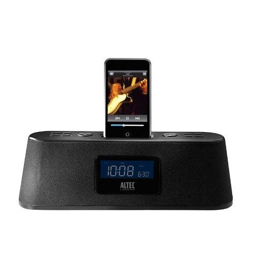 Altec Lansing M302 Moondance Home Alarm Clock Radio for iPod and MP3 Players (Black)