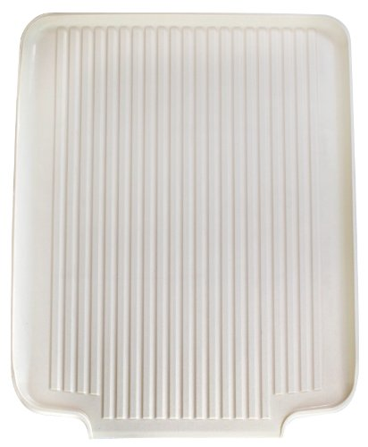 Better Houseware 1480/A Large Dish Drainer Board, Almond