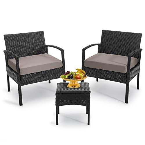 Outdoor Furniture 3 Piece Patio Set Balcony Furniture...