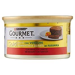 Gourmet Gold Pate 'Beef & Carrots Gr. 85