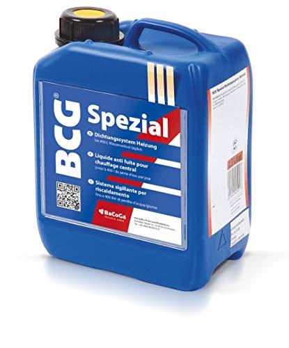 Flüssigdichtmittel BCG Spezial (5 l) gegen Leckagen in Rohren und Heizungen