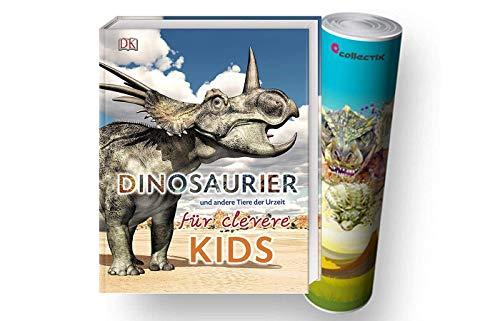 DK Verlag Dinosaurier und andere Tiere der Urzeit für clevere Kids: Lexikon mit über 1500 farbigen Abbildungen + Dino-Poster von Collectix