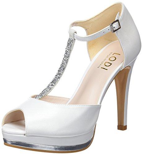 Lodi Pauli, Zapatos con Tacon y Tira Vertical para Mujer