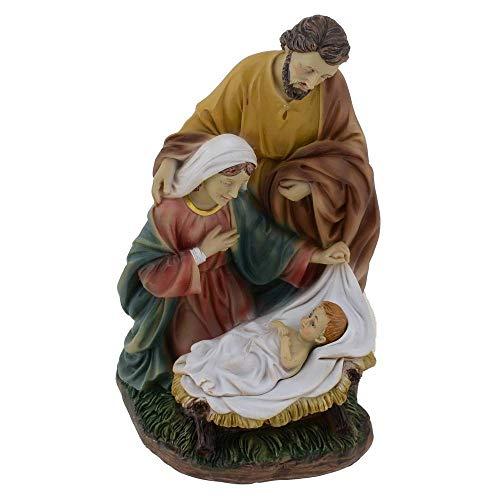 Krippenblock heiligenfigur 15 cm