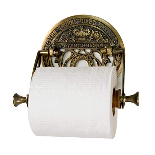 Top 10 best selling list for crown toilet fixture solid brass toilet paper holder