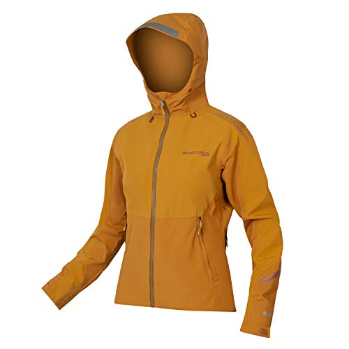 Endura MT500 Waterproof Womens MTB Jacket Medium Nutmeg
