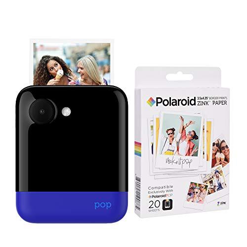 Polaroid POP 2.0 2 IN 1 Sofortdruck-Digitalkamera (Blau) Zink Papier Kit