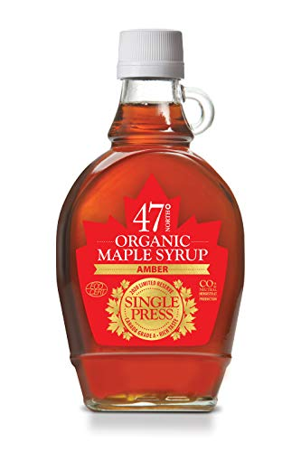 47 North Jarabe de arce orgánico canadiense, SINGLE PRESS, Grade A, Amber 250g LIMITED EDITION