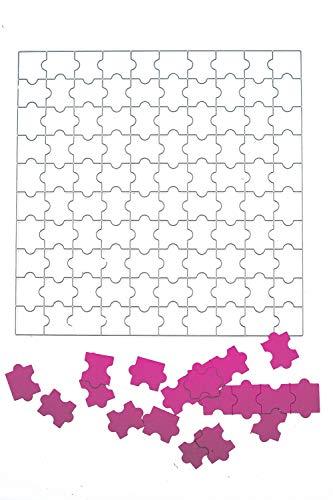 Stanzschablone: Puzzle | BigShot kompatibel | Für alle gängigen Stanzmaschinen geeignet