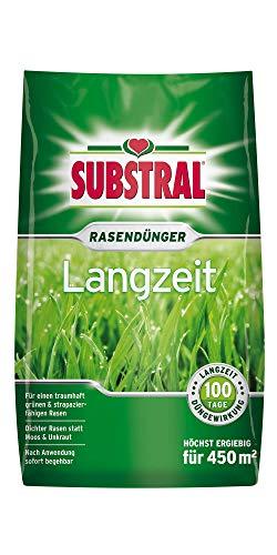 Substral Langzeit Rasendünger 450 m² - 9 kg