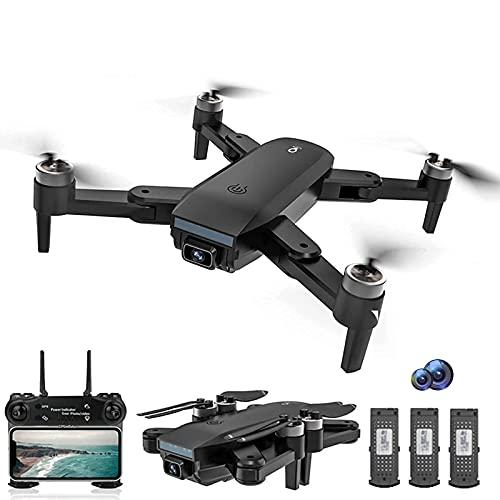 PAKUES-QO Drones para Adultossg700Max Drone, WiFi 4K Cámara HD Fotografía Aérea Profesional Drones Motor Sin Escobillas Plegable Quadcopter Juguetes