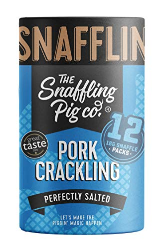 Snaffling Pig Pork Crackling Sharing Snaffle Tubes (Perfectly Salted)
