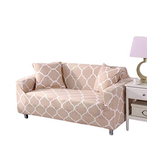 Runyue Sofa Cover Couch Schonbezug Möbelschutz,Elastischer Riemen,Maschinenwäsche,Schonbezug Für Haustiere,Hunde,Kinder Stil22 1 Sitzer/90-140cm