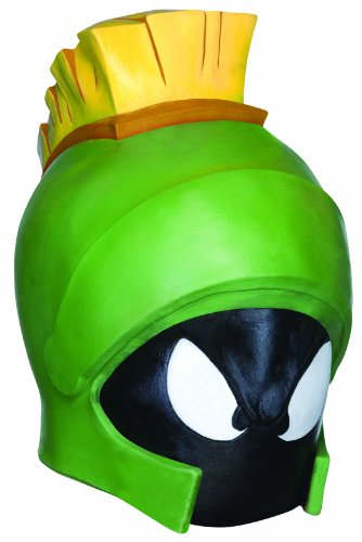 Rubie's Marvin The Martian Deluxe Overhead Mask, Green, One Size