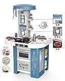Smoby - Tefal Studio Tech-Edition – elektronische Spielküche für Kinder mit vielen Funktionen, Töpfen, Pfannen, Küchenbesteck, Herd, Ofen, für Kinder ab 3 Jahren