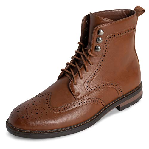 Queensberry Londen herensschoen laarzen Brogue Schroff kantoor Smart Werk Kilt Formal Genagelt Traditionele laarzen
