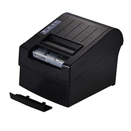 kleine ticket printer, USB-interface, automatische snijder, supermarkt keuken kassa rekening, thermische printer,