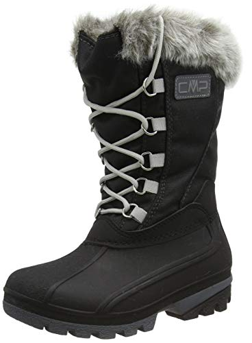 CMP Girl POLHANNE Snow Boot, Nero, 36 EU