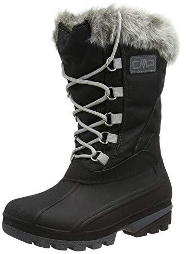 CMP Girl POLHANNE Snow Boots, Stivali da Neve, Schwarz, 33 EU
