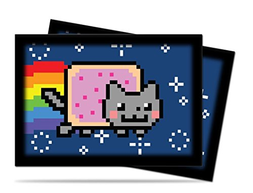 Ultra Pro - 330658 - Jeu De Cartes - Housse De Protection - Nyan Cat - Small - 60 Pièces - C100