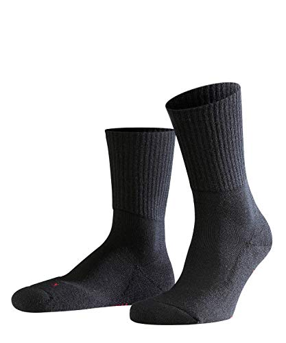 FALKE Unisex Socken, Walkie Light U SO-16486, Schwarz (Black 3000), 42-43