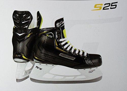 BAUER S25 Skate Herren Schlittschuhe schwarz 43
