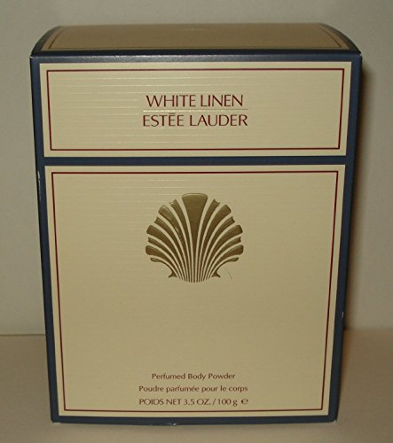 Estee Lauder White Linen Perfumed Body Powder With Puff - 100g/3.4oz