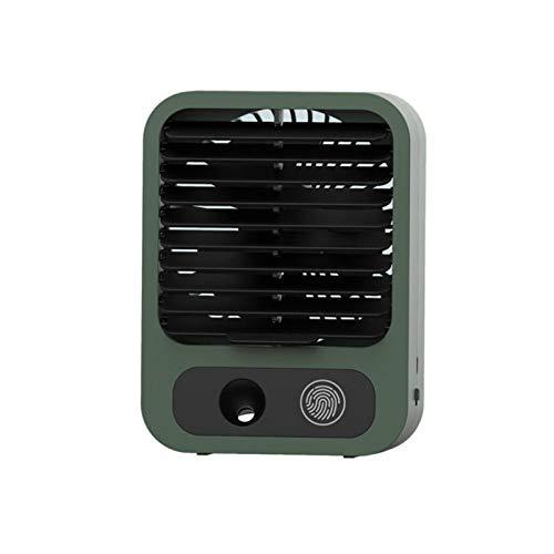 Chuanfeng Ventilador de Aire Acondicionado Ventilador de enfriamiento de nebulización USB portátil para oficinaAcondicionado Ventilador De Enfriamiento De Nebulización USB Portátil para Oficina