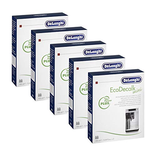 5x Original Delonghi Nokalk Eco Decalk Entkalker 10x100ml