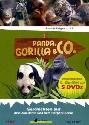 Panda, Gorilla & Co., 1 - 52, 5 DVDs