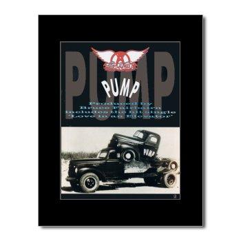 Music Ad World Aerosmith Mini-Poster, Pumpe, 28,5 x 21 cm