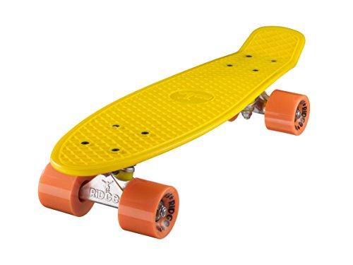 Ridge Mini Cruiser Skateboard, Giallo