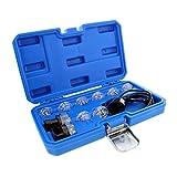 ABN Deluxe Noid Light Test Kit, Fuel Injector Tester Tool Noid Light Set, Fuel Light Fuel Injector Tester Kit 10-Piece