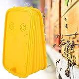 capus Plastic Bee Hive Smoker Replacement Bee Blower Fumigator Spray Smoke Device Beekeeping Supply Tool,Yellow