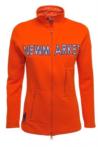 Générique PartyOf2 la Collection Pur-Sang Femmes 12 W Veste Polaire zippée Orange Orange X-Large