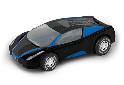 Darda 50369 Auto DCR 1 Fahrzeug, schwarz/blau