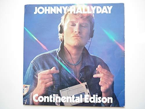 Johnny Hallyday 45Tours vinyle promo Continental Edison
