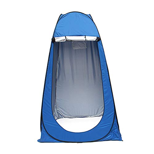 TTlove Shower Privacy Toilet Tent Beach Portable Changing Dressing Camping Pop Up tents Room Sun Sunshade Baby Outdoor Backpack Shelter Canopy(Blue,120x120x195cm)