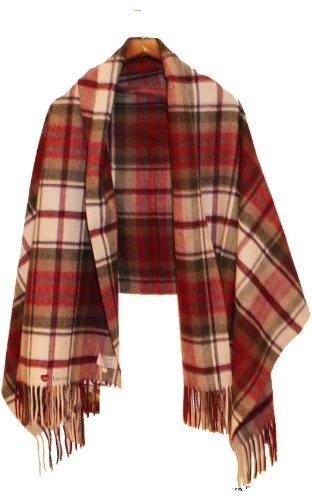 I Luv Ltd Edinburgh Lambswool Stole in MacDuff Dress Tartan