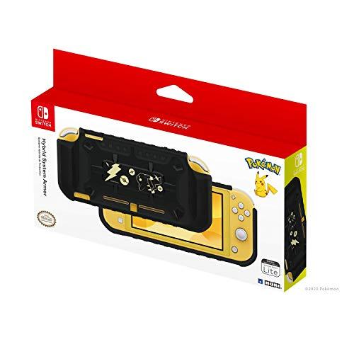 HORI Cover Protettiva ibrida (Pikachu Black & Gold Edition) Per Nintendo Switch Lite - Ufficiale Nintendo e Pokémon - Nintendo Switch