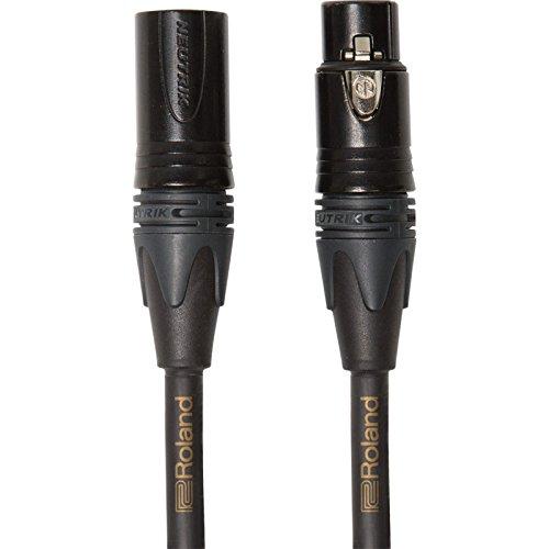 Cable de micrófono balanceado de la serie Gold de Roland — Conectores...
