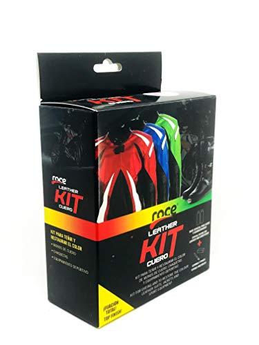 Roce Leather Kit |Tintas Roce| Color Dorado/Oro | Tinta Reparadora para Monos de Motorista y Prendas de Cuero Estropeadas | Accesorios para Motos | Monos Motorista Chupas y Chaquetas.