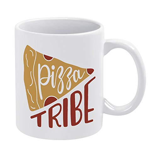 Pizza tribe Mug, 11oz Funny Coffee Mug, Best Personalised Gift to Your Friend Lover Family