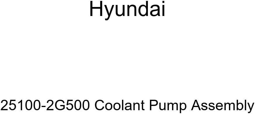 Genuine Hyundai 25100-2G500 Sales discount results No. 1 Coolant Assembly Pump
