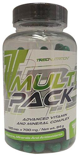 Trec Nutrition Multipack, Complejo de Vitaminas y Minerales - 120 cápsulas