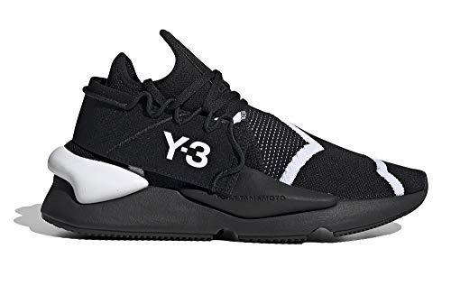 adidas Hombre Y-3 KAIWA Knit Zapatillas Negro, 36 2/3