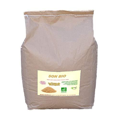 La Ferme Sauvegrain Son de blé sans OGM pour Les Poules - 5 kg