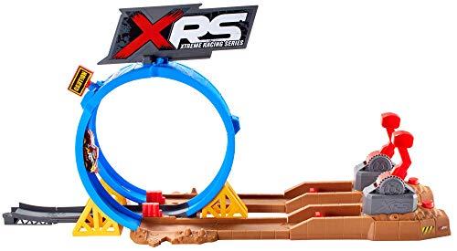 Disney Cars- Pista Super Scontri XRS Mud Racing Playset per Macchinine con Veicolo Saetta McQueen Incluso, Giocattolo per Bambini 4+ Anni, FYN85