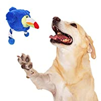 Flightbird ペットの犬ぬいぐるみニブルコットンロープボーカル玩具ジェイ