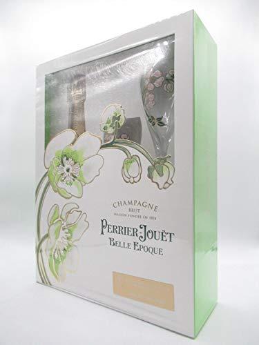 [ギフト] ペリエジュエ・ベルエポック 白 箱付き グラス2個付きセット 750ml